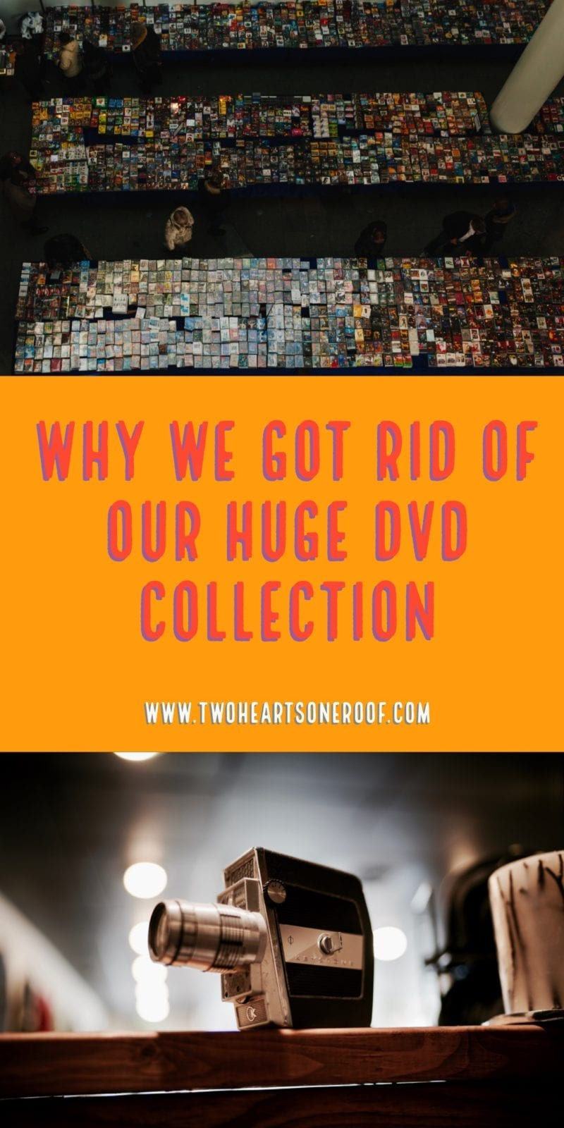 Why We Got Rid Of Our Huge DVD Collection This Year