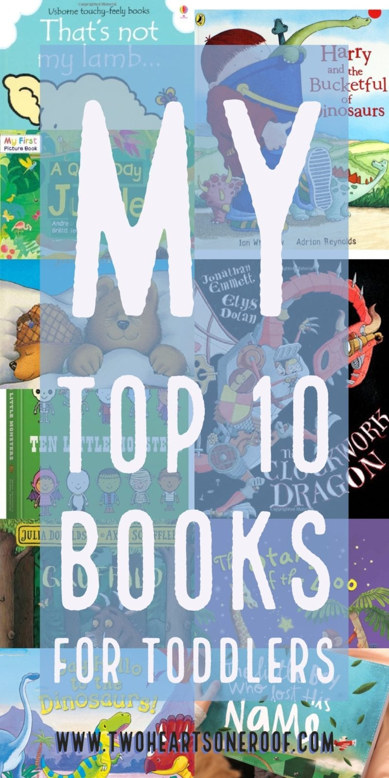 Top 10 books for toddlers