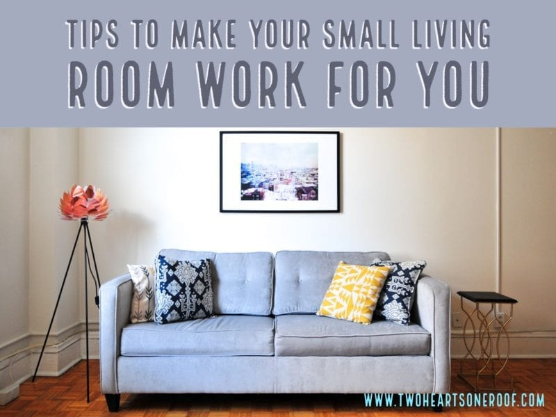 Small Living Room Ideas to Make Your Living Room Work For You