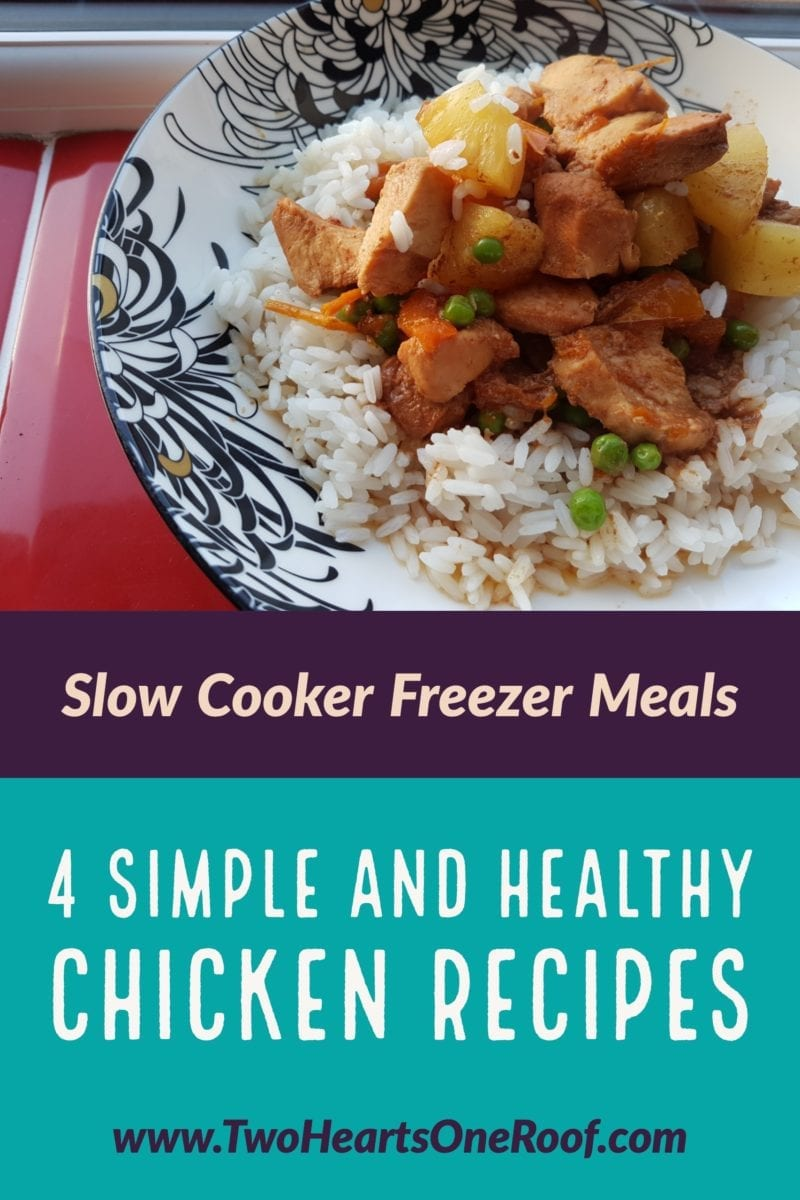 4 chicken slow cooker recipes perfect for freezer dump bags