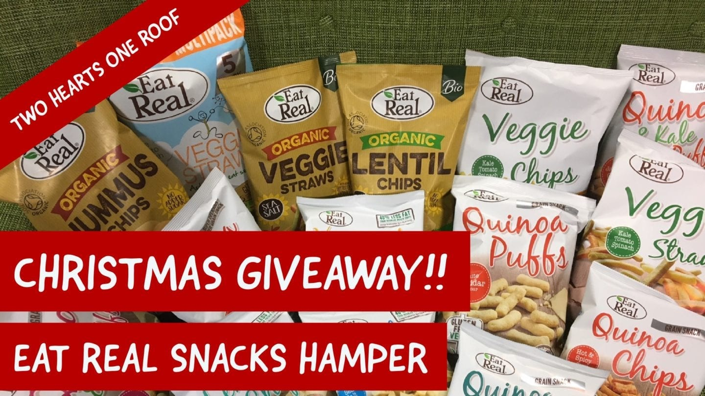 Eat Real Snacks Hamper Giveaway – 12 Days of Christmas Giveaways