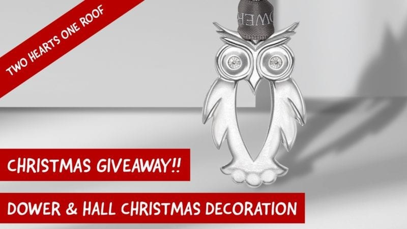 Dower & Hall 2017 Limited Edition Owl Christmas Decoration