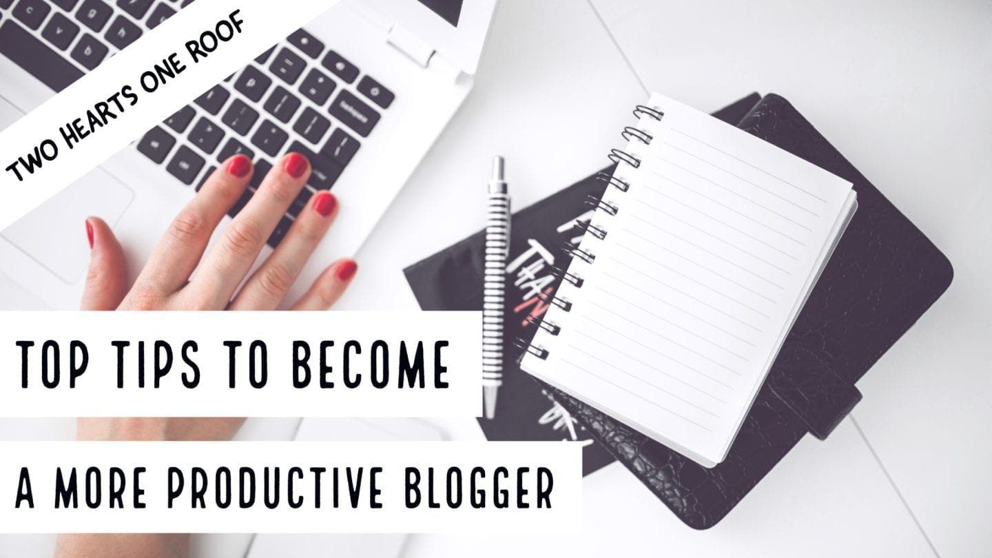 Top Tips To Become A More Productive Blogger – Plus Great Blogger Christmas Gift Ideas