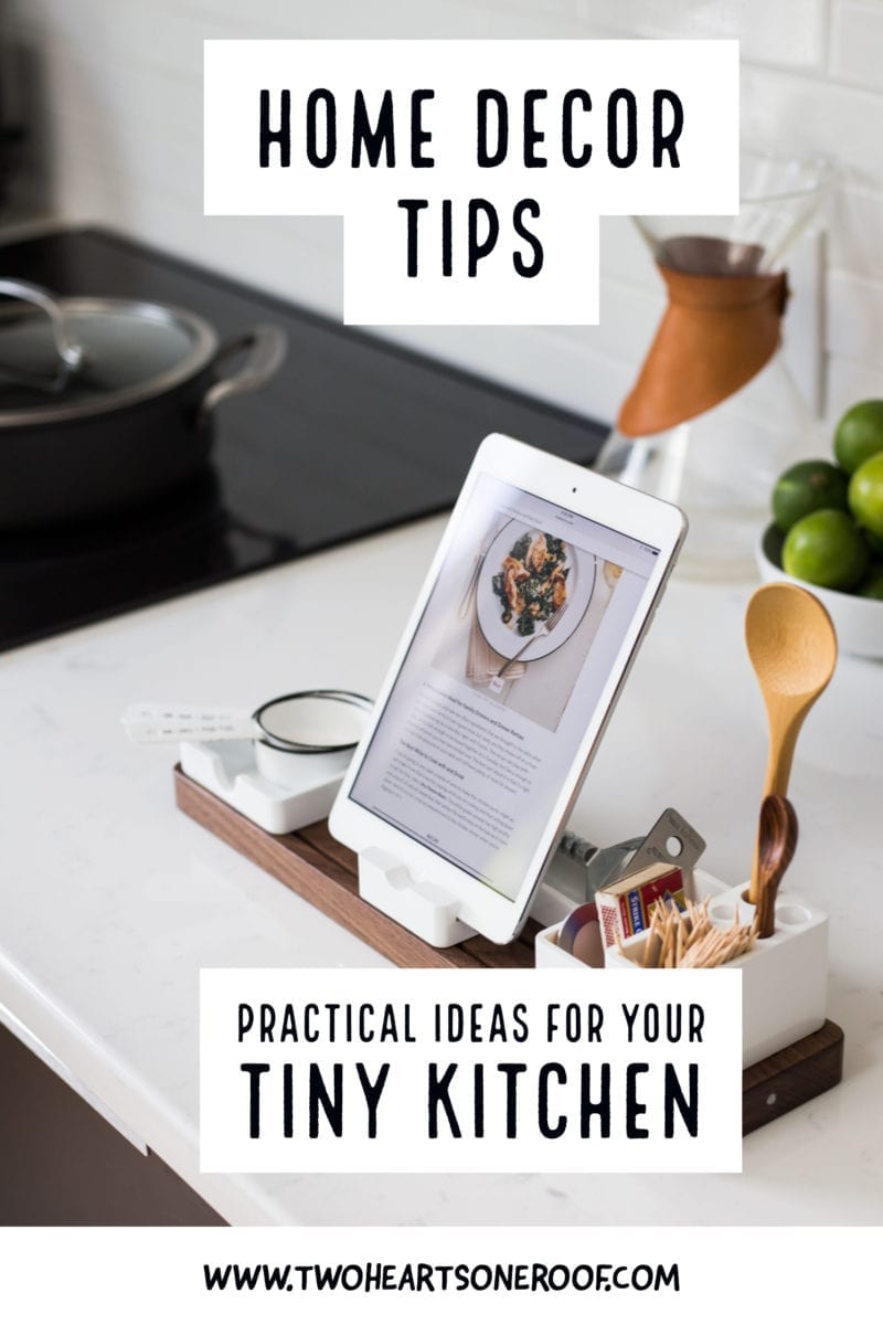 Practical Ideas For Your Tiny Kitchen - Home Decor Tips