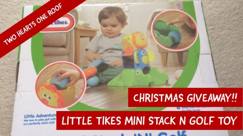 Win a Little Tikes Mini Stack N Golf Toy
