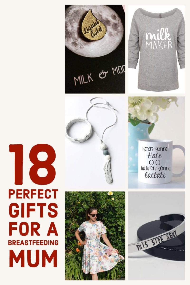 Beautiful Breastfeeding Inspired Gifts - 18 Perfect Gifts for a Breastfeeding Mum
