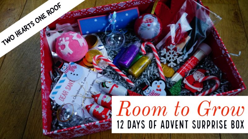 Room to Grow 12 Days of Advent Surprise Box
