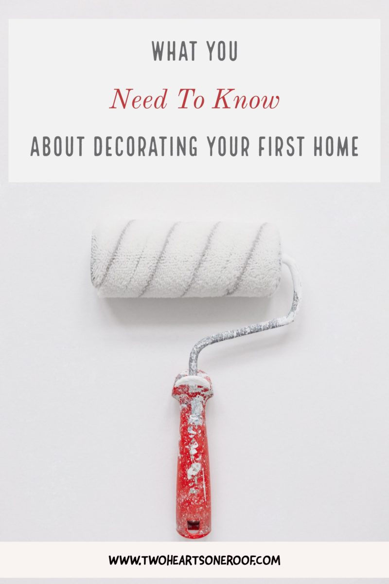 Decorating Tips for First Time Buyers