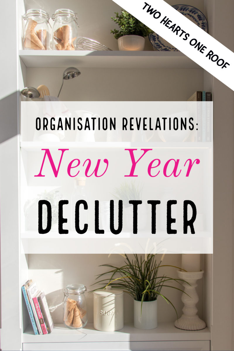 new year declutter tips