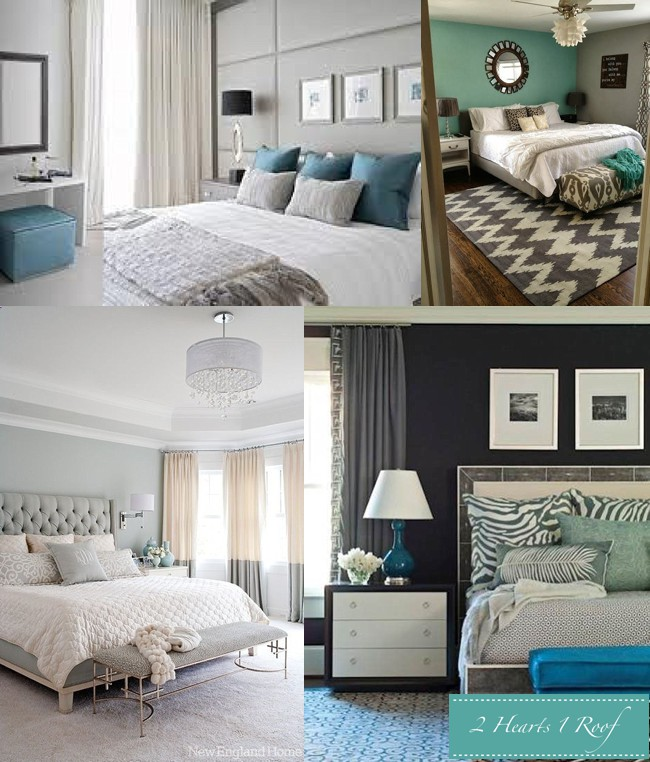 turquoise and grey bedroom bedroom inspiration grey and turquoise two hearts one roof 17591