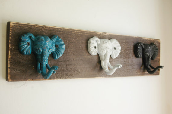 Chantele S Etsy Finds Elephant Coat Hooks