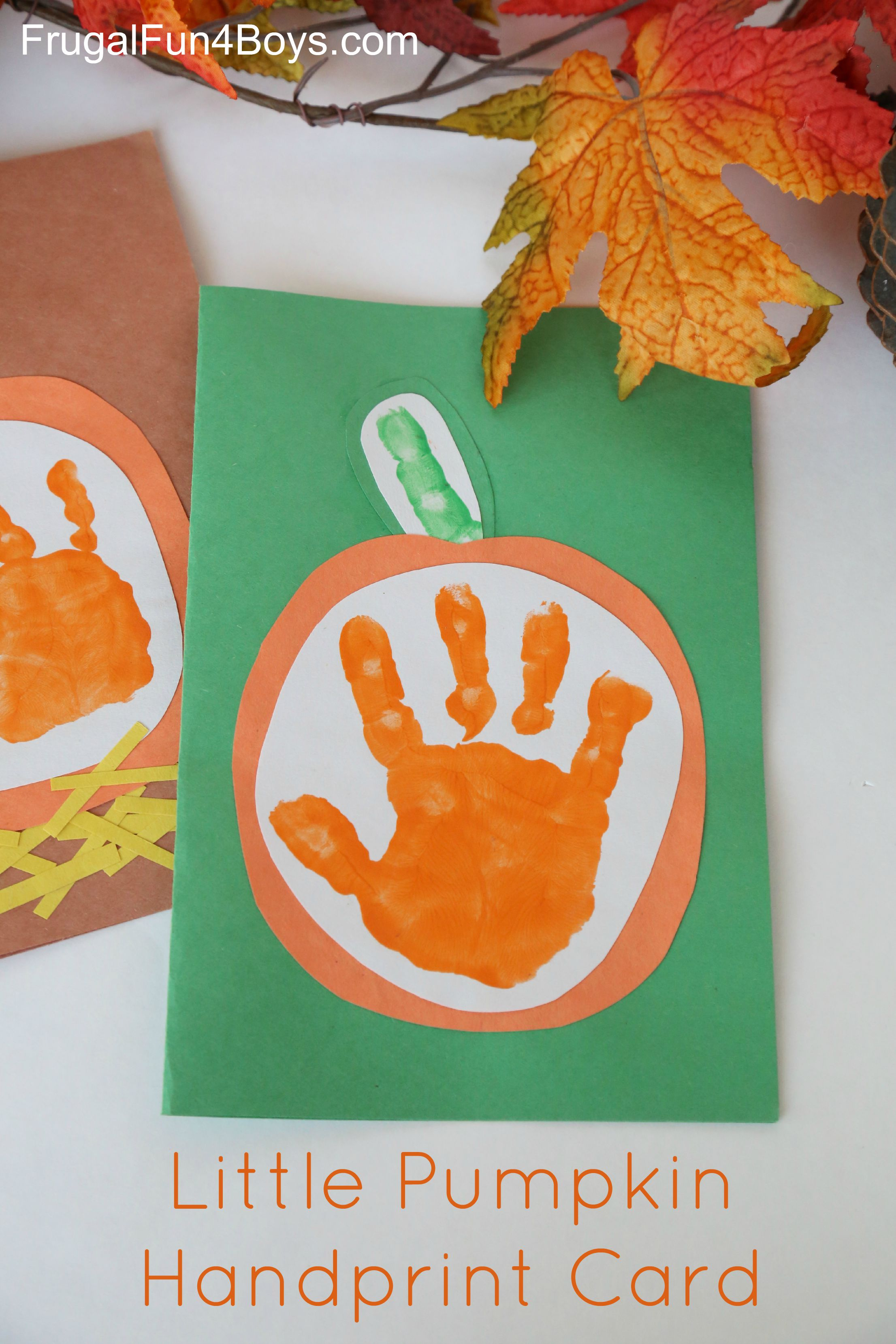 Easy Autumn Crafts For Toddlers