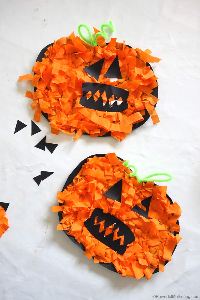 25 Pumpkin Themed Halloween Crafts For Toddlers